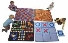 4 Pack Games Carpets